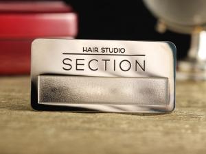 """Бейдж """"Hair studio"""""""