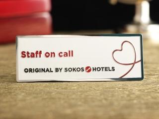 "Бейдж ""Sokos Hotels"""