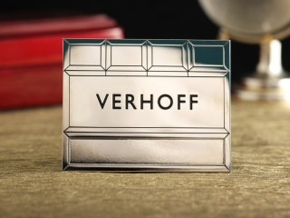 "Бейдж ""Verhoff"""